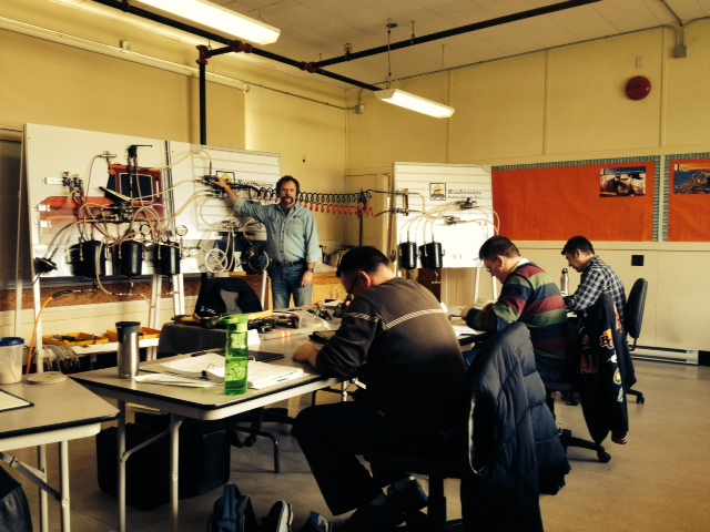 Air brake instructor course